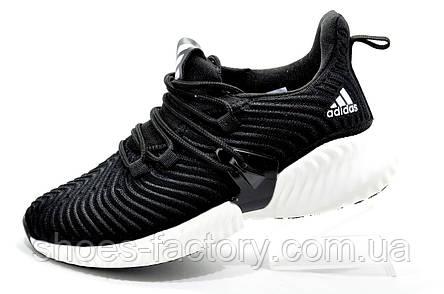 Мужские кроссовки в стиле Adidas Originals Alphabounce Instinct, White\Black, фото 2
