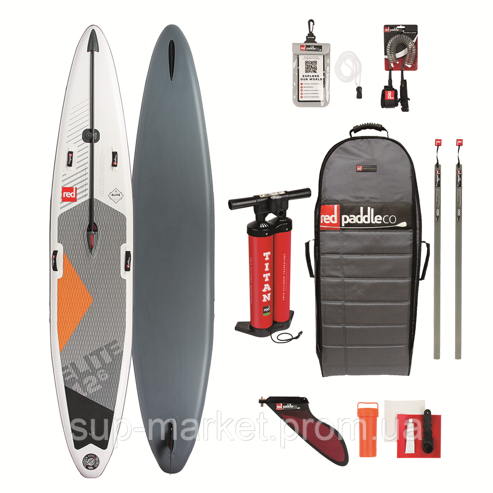 "SUP доска Red Paddle Co Elite 12'6'' x 28"", 2019"