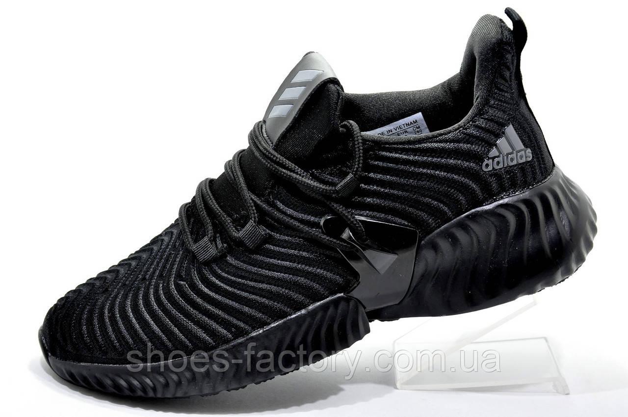 Мужские кроссовки в стиле Adidas Originals Alphabounce Instinct, All Black
