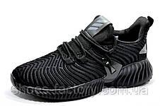 Мужские кроссовки в стиле Adidas Originals Alphabounce Instinct, All Black, фото 3