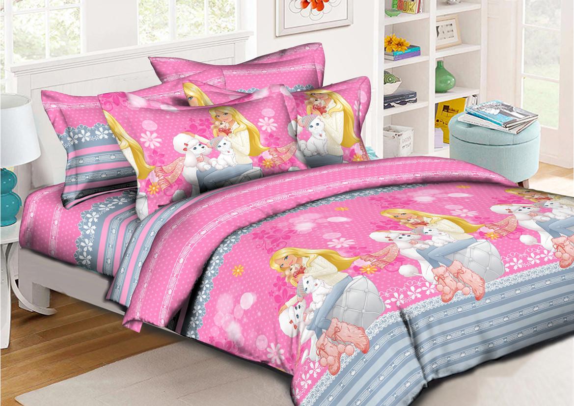 Детский комплект постельного белья (ранфорс, 150х220 см)