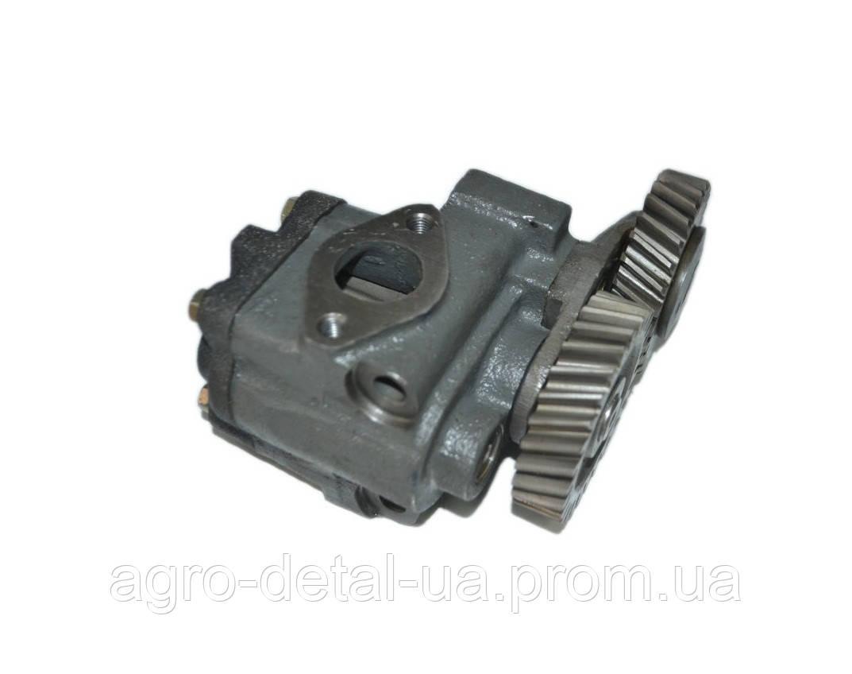 Насос масляный 7511.1011014-01 ЕВРО-2 дизельного двигателя ЯМЗ 7511.10