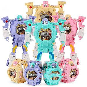 Детская игрушка часы робот-трансформер Robot Watch (выбор цвета)