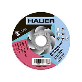 Круг отрезной по металлу, ø125х1,6х22 мм, Hauer (17-249) шт.