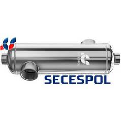 Теплообменник для бассейна Secespol B180 (53 кВт)