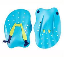 Лопатки для плавания Speedo tech paddle au grey (MD)