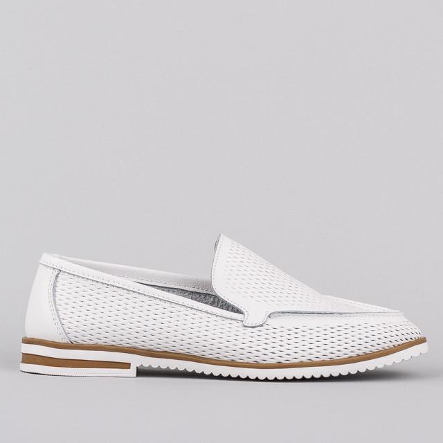 Мокасины Allshoes AK7957-2 WH