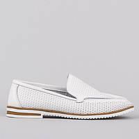 Мокасины Allshoes AK7957-2 WH 36 23 см, фото 1