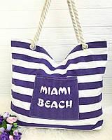 Сумка пляжная большая Miami Beach , фото 1