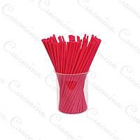 Палочки для кейк-попсов - Красные - 15 см, 50 шт