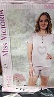 """Модная пижама футболка с шортиками """"Miss Victoria"""""""