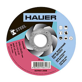 Диск отрезной Hauer по металлу 230 х 1.8 х 22 мм (17-277)