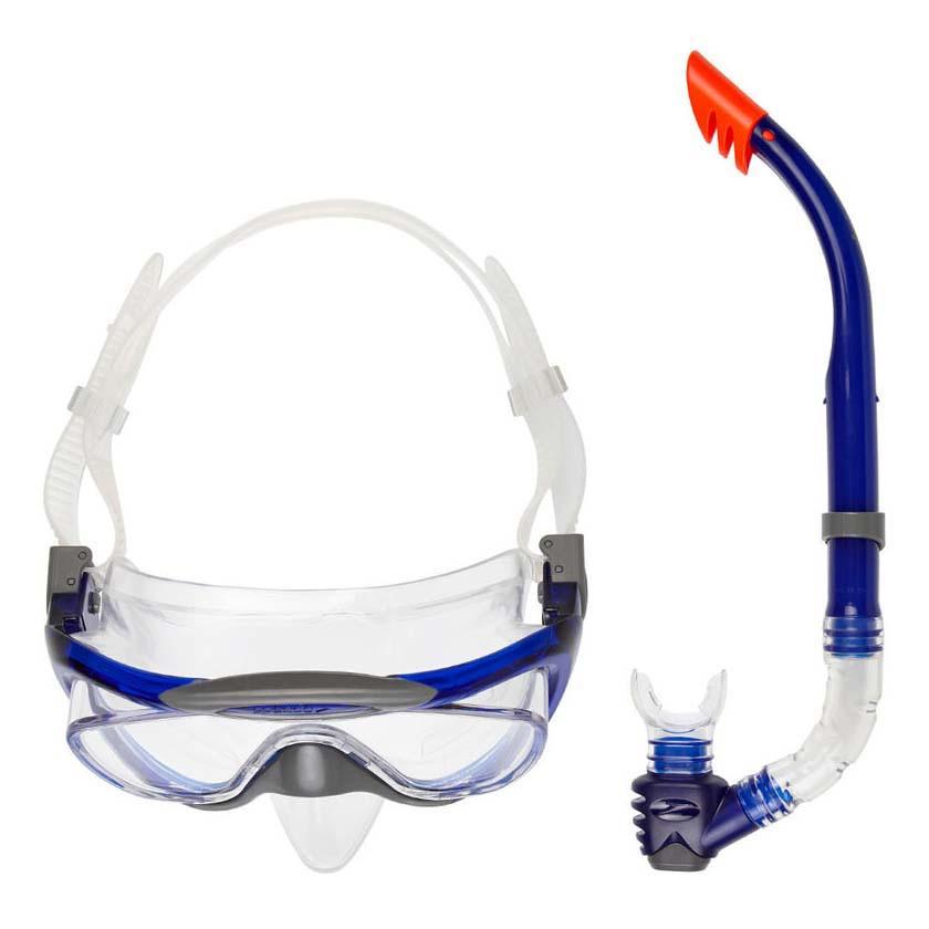 Маска+трубка для плавания детская Speedo junior snorkel set (MD)