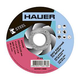 Диск отрезной Hauer по металлу 230 х 2.0 х 22 мм (17-278)