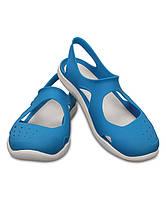 Сандалии женские Crocs EUR 36 37 стелька 23 см Кроксы аквашузы