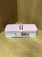 Контейнер для специй 2341 розовый HAPPY LIFE