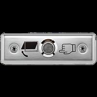 Металлическая кнопка выхода, врезная ART-801A (ABK-801A), фото 1