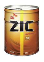 Индустриальное масло ZIC SK Superway 68 20 л.