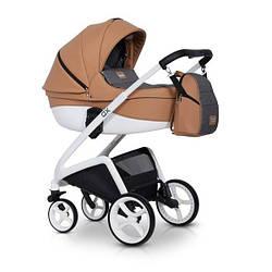 Детская коляска универсальная 2 в 1 Riko XD 03 caramel (Рико, Польша)