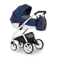 Детская коляска универсальная 2 в 1 Riko XD 05 denim (Рико, Польша)