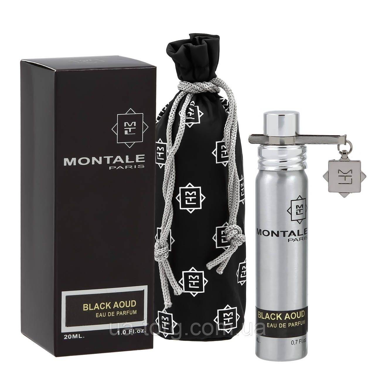 Мужской мини-парфюм Montale Black Aoud, 20 мл