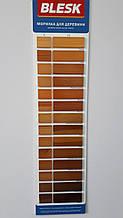 """Морилка для дерева """"БЛИСК"""" М-4 """"Червоно-коричневий"""" 0,34 кг (пляшка ПЕТ 0,4 л)"""