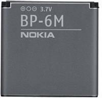 Батарея (акб, аккумулятор) Nokia BP-6M для телефонов Nokia, 1070 mAh, оригинал