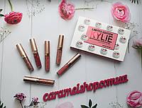 Набор жидких матовых помад Kylie 8626 limit edition 6 шт реплика