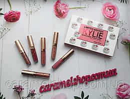 Набір рідких матових помад Kylie 8626 limit edition 6 шт репліка