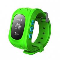 Детские умные часы Smart Baby Watch Q50 Green с GPS трекером, влагозащита, ударопрочные