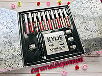 Набор косметики из матовых помад,тени,блеск Kylie Ky-1 Limited Edition Holiday Box 10 цветов копия