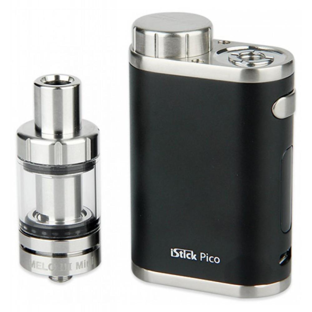 Eleaf iStick Pico - Электронная сигарета 75W TC с Melo 3 (полный набор) QualitiReplica