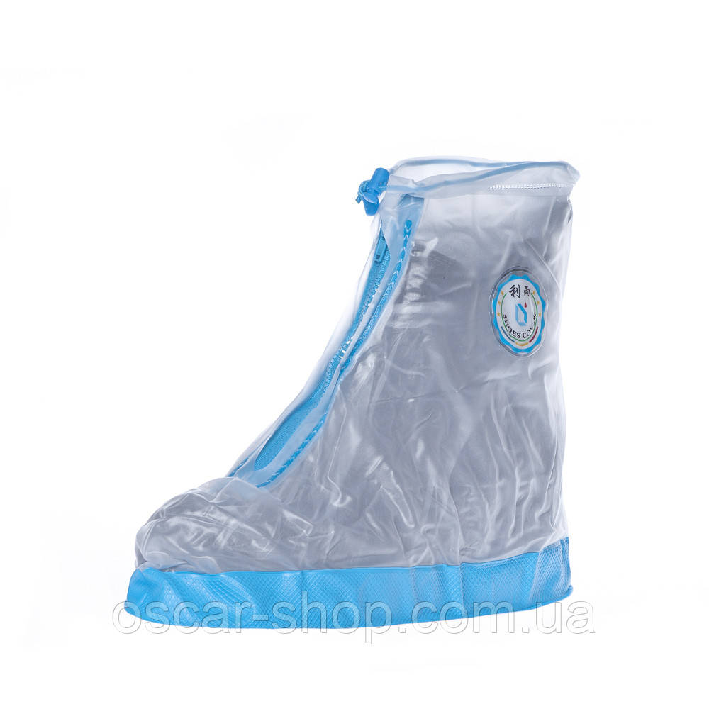 Защитные водонепроницаемые  чехлы бахилы на обувь длина стельки 29