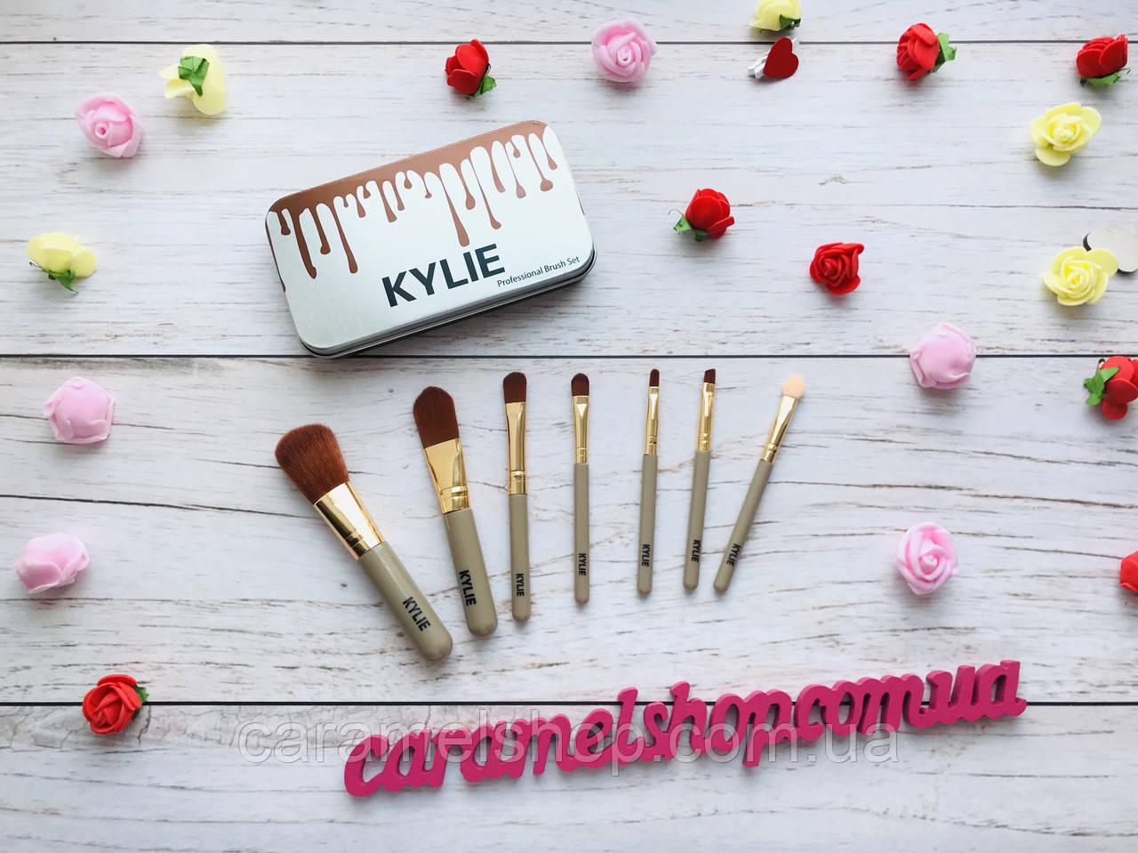 Набор кистей для макияжа Kylie Professional Brush Set 7 шт реплика