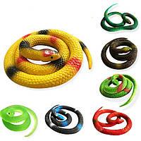 Детская игрушка змея силиконовая длина 70см, фото 1