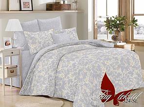 Двухспальное постельное белье поплин ТМ TAG SL324