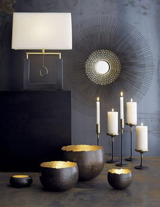 Свечи в интерьере свечи и металл