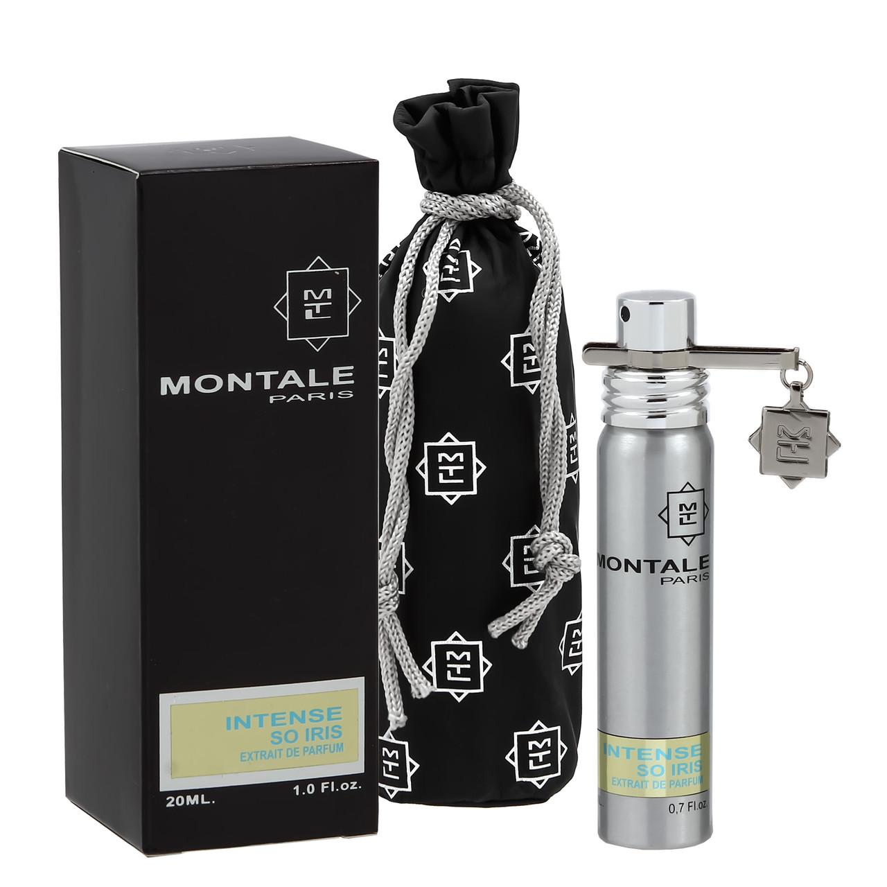 Унисекс мини-парфюм с феромонами Montale Intense So Iris (Интенсивный ирис), 20 мл