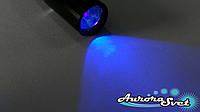 Ультрафиолетовый Фонарик UV 380NM. Для проверки подлинности купюр в виде авторучки.