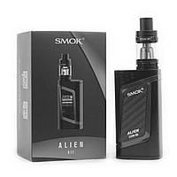 Электронная сигарета SMOK Alien Kit 220W. Вейп. Стартовый набор(полный комплект) Black, фото 1