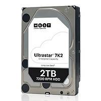 Накопитель HDD SATA 2.0TB Hitachi (HGST) Ultrastar 7K2 7200rpm 128MB (HUS722T2TALA604/1W10002)