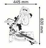 Торцовочная пила Bosch GCM 800 SJ, фото 2