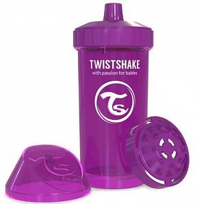 Чашка детская Twistshake 12+ мес 360 мл - фиолетовый (24905)