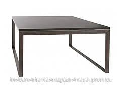 Стол журнальный Brighton S (Брайтон S) 89.5х89.5х45, графит МДФ (Бесплатная доставка), Nicolas