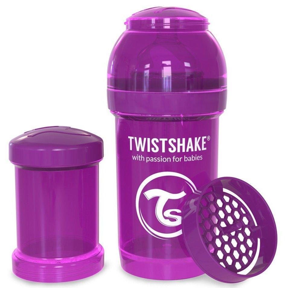 Бутылочка антиколиковая Twistshake 180 мл фиолетовый (24850)