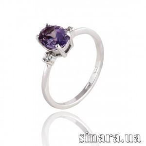 Серебряное кольцо с александритом 30816