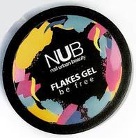 Гель NUB Flakes Gel