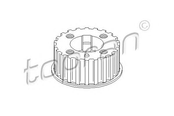Шестерня кол-вала Audi 100/A6 2.4D/2.5TDi (>97) VW LT/T-4 2.4D/TD