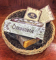 """Натуральное мыло """"Оливковое"""", 100 г"""