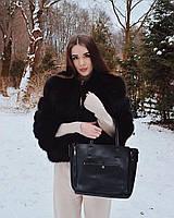 Кожаная сумка в натуральной коже Селин